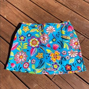 HOST PICK Bamboo Traders Colorful Skort